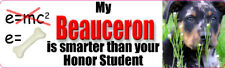 MY BEAUCERON IS SMARTER THAN YOUR HONOR STUDENT Sticker