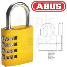 ABUS 40mm Aluminium Combination Security Door/Shed Lock/Padlock ABU14540RC