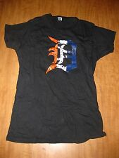 "HOOT's ON THE AVENUE large T shirt Detroit bar tavern ""D"" logo urban gangsta"