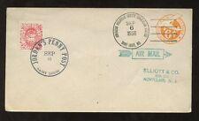 USA 1956 stationery Jordans PENNY POST APS convenzione Airmail 6C MISSOURI