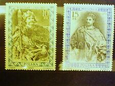 POLAND STAMPS MNH Fi2983-84 Sc2838-39 Mi3131-32 - Polish Kings - 1987, clean