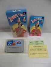 SNES -- YUUYU NO QUIZ DE GO! GO! -- Boxed. Super famicom. Japan game. 12807