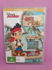 Jake and The Never Land Pirates 3 Disc Set 🎬  DVD 🎬 FREE POST