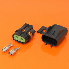 Genuine DELPHI 2 Way Metri Pack Pull To Seat Sealed 630 Series Connector 46 AMP