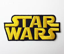 STAR WARS - Classic Logo Embroidered Iron-On Movie Patch - The Force Awakens