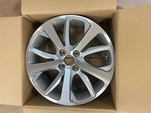 Genuine Peugeot 208 17ins Oxygen Alloy Wheel Set - FOUR Items - 1608816980