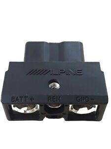 Alpine Quick Connect 2 Pin Plug PDXF4 PDXF6 PDXM12 PDXM6 PDXV9 XA70F XA90M XA90V