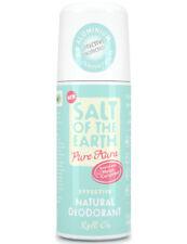 Salt of the Earth Pure Aura Natural Deodorant Roll-On Melon & Cucumber  75ml