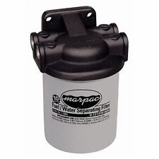 Marpac Fuel/Water Separator Filter Kit 10MCRN, MarPlate Head FF010005 Marine MD