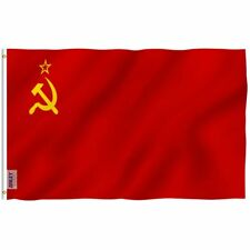 ANLEY Soviet Union Flag Union of Soviet Republics National Polyester 3x5 Ft