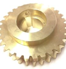 BRASS WORM GEAR #12 FOR BES/ABS SM-160 SPIRAL MIXERS
