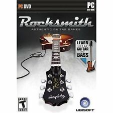 Rocksmith Guitar and Bass w/ Tone Cable [PC-DVD Computer, Guitar Band Music] NEW