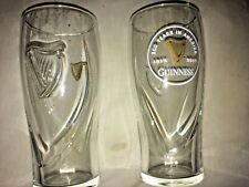 GUINNESS, 200 years in America  20oz GRAVITY BEER PINT GLASS (SET OF 2) Unique