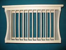 Compact under cabinet kitchen cottage wood counter plate dish rack stand shelf & Wood Plate Racks \u0026 Hangers | eBay