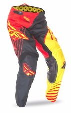 "FLY KINETIC ""VECTOR"" PANTS - RED/BLACK/YELLOW - SIZE 34"