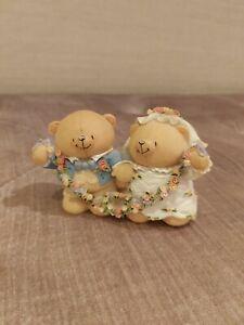 Forever Friends Bride & Groom Figure ,Andrew Brownsword Cake Topper Keepsake