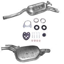 IMASAF Auspuff Mitteltopf+Anbauteile für Mercedes Coupe W111 280SE 3.5 1969-1971