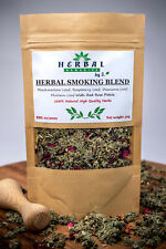 Herbal Smoking Mix/Blend Marshmallow Raspberry Damiana/ ROSE PETALS 50g
