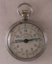RARE CHRONOGRAPHE DE SPORT HORS NORME French Pocket Watch Perfect Serviced