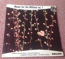 PHILIPS MINIGROOVE 422 532 NE MUSIC FOR THE MILLIONS NO.7 1E/2E HOLLAND PIC EXC