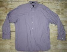 EUC Vintage GAP Classic Oxford Button Up Shirt Size Large Mens Purple Oversized