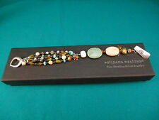 Silpada Jewelry ~  Mixed Media & Sterling Silver Toggle Bracelet #B1992  Retired