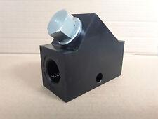 "Sun Hydraulic In Line Check Valve CXHA XCN ICX/S 320LPM 1""BSP Steel 350BAR #"