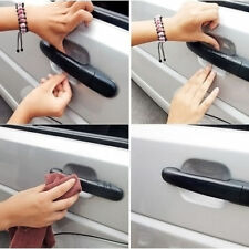 Hot 4Pcs Car Vinyl Handle Door Invisible Protector Films Scratches Sticker Style