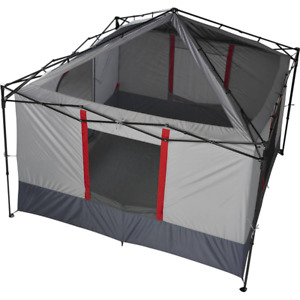 6-Person Instant Tent Outdoor Cabin Party Family Dome Portable Camp Shelter