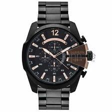 Diesel Authentic Watch 59mm DZ4309 Black Stainless Steel Mega Chief Chronograph