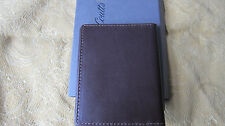 Coutts Credit Card Wallet In Brown Leather. Two For One Offer On This Listing