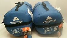 LOT of Two  Blue Ozark Cool Weather Sleeping Bags