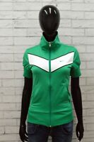 Felpa Donna Nike Taglia 38 Verde Manica Corta Woman Sweatshirt Green Sportiva