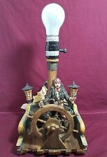 Hampton Bay Disney Pirates Of The Caribbean Jack Sparrow Table Lamp