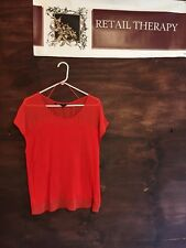 Guess Orange Top Medium SS