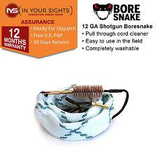 Gen2 12 Gauge shotgun Bore Snake / 12GA shotgun boresnake barrel cleaner cord
