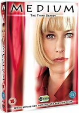 MEDIUM - THE COMPLETE THIRD SEASON 3  - DVD - UK Region 2 / sealed