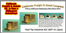Roof Top A/C UNIT #1 KIT (2pcs) N/1:160-Scale Craftsman California Freight nnPR4
