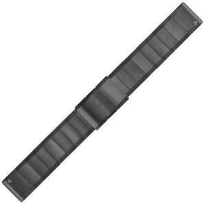 Garmin Slate Grey Steel QuickFit 22mm Strap Fenix 5 Forerunner 935  010-12496-06