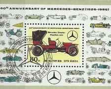 Timbre Voitures Mercedes Corée o lot 25784