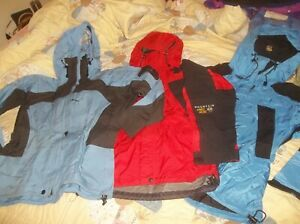 ONE NICE Mountain Hardwear Exposure Gore-tex XCR Red OR Blue Parka Jacket Coat