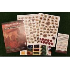 Gloomhaven Removable Sticker Set [Board Game Accessory Vinyl Reusable] NEW
