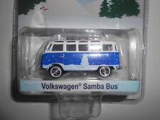 VOLKSWAGEN T1 TYPE 1 SAMBA BUS HOLIDAY COLLECTION  GREENLIGHT 1/64