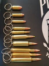 REAL BULLET KEYCHAIN Singles and Lot options