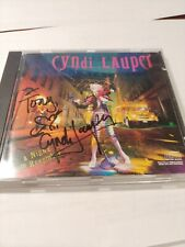 Cyndi Lauper Autographed Signed CD A Night To Remember ACOA