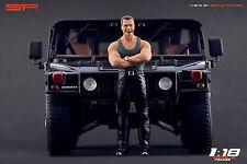 1/18 Arnold Schwarzenegger VERY RARE!!! figures for 1:18 Hummer H1