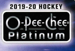 19/20 O-PEE-CHEE PLATINUM HOCKEY BASE TEAM SETS (ANA-WIN) U-Pick Team From List