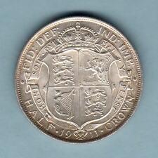 New listing Great Britain. 1911 Halfcrown. Full Lustre. Unc/Bu