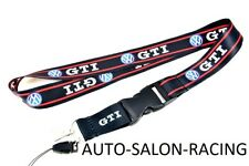 For VW GTI RACING Lanyard Neck Cell Phone Key Chain Strap Quick Release For GTI