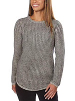 Jeanne Pierre Women's Fisherman Cable-Knit Sweater